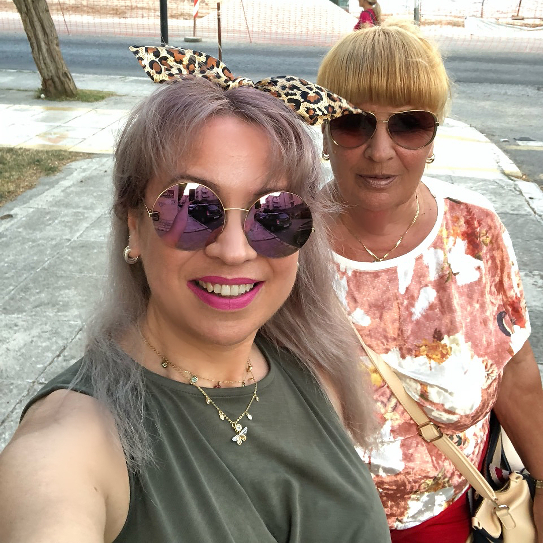 330e139123 Posts in photo. 😍❤  summertime  selfies  mom  summer2018  holidays  corfu