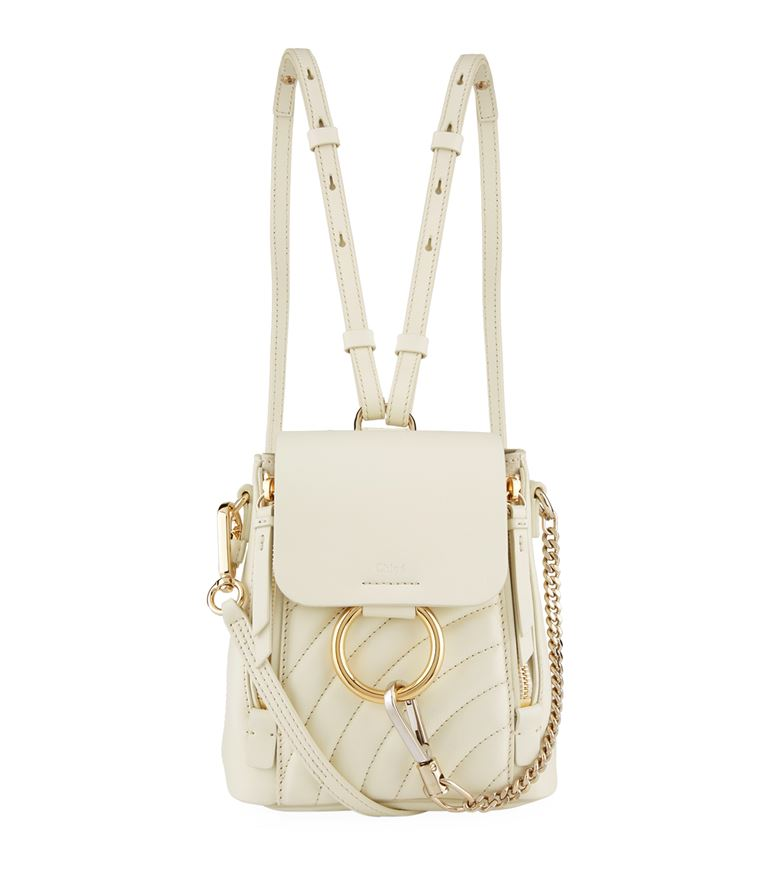 Chloé  - Mini Quilted Faye Backpack
