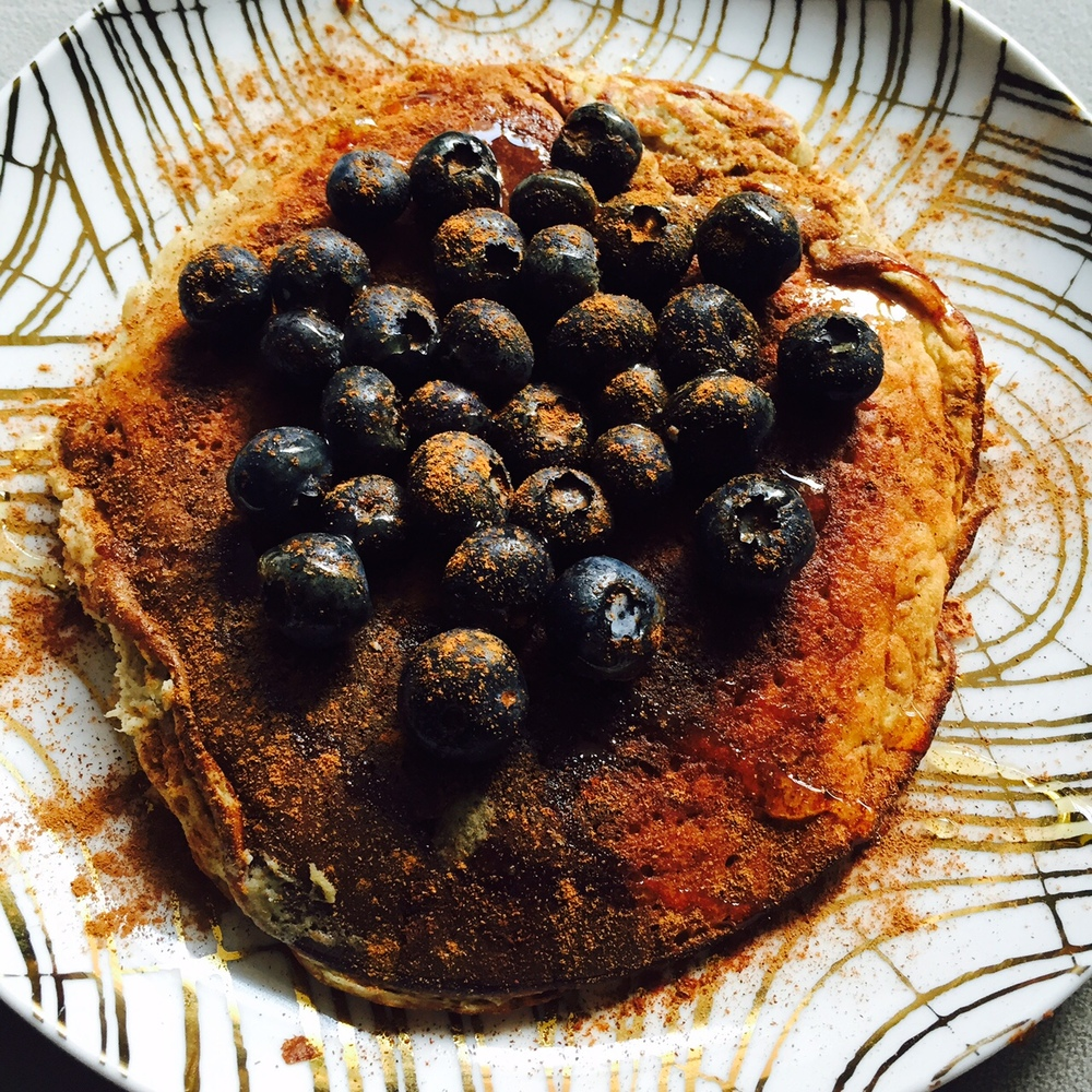 5-Minute Grain-free Banana Pancakes