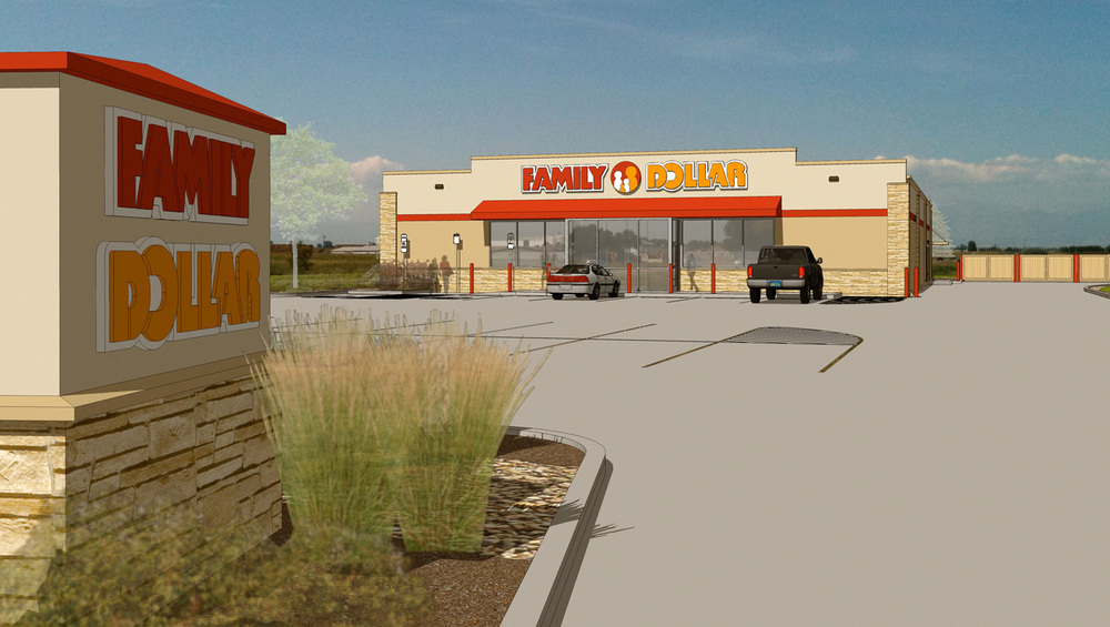 firestone, colorado entrance rendering