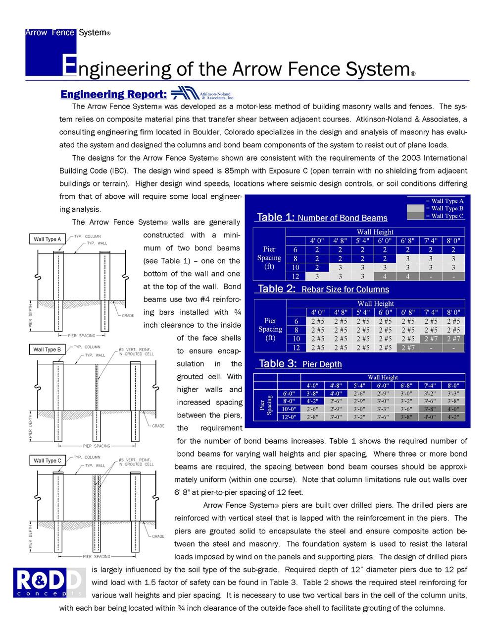 engineering report excerpt