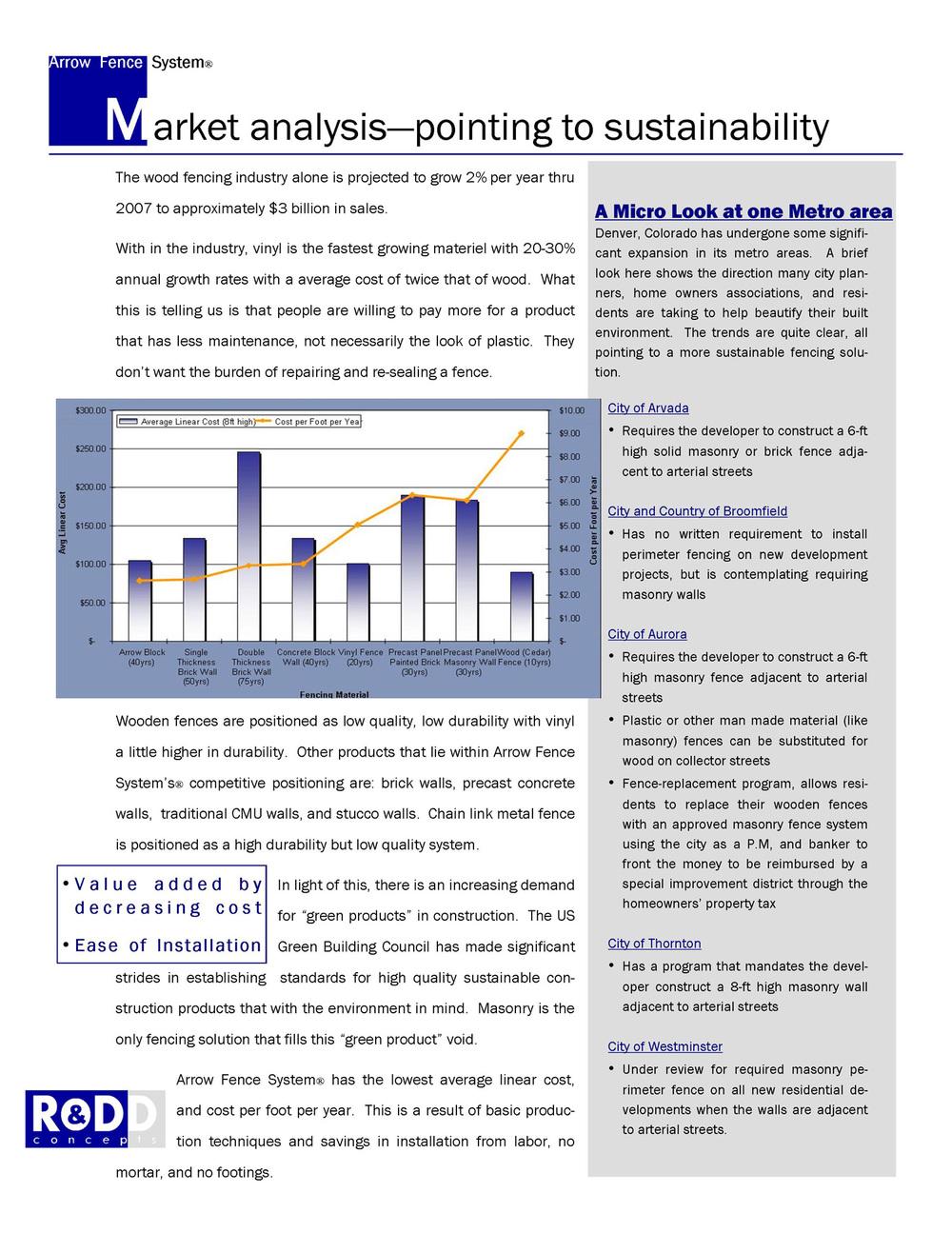 market analysis excerpt