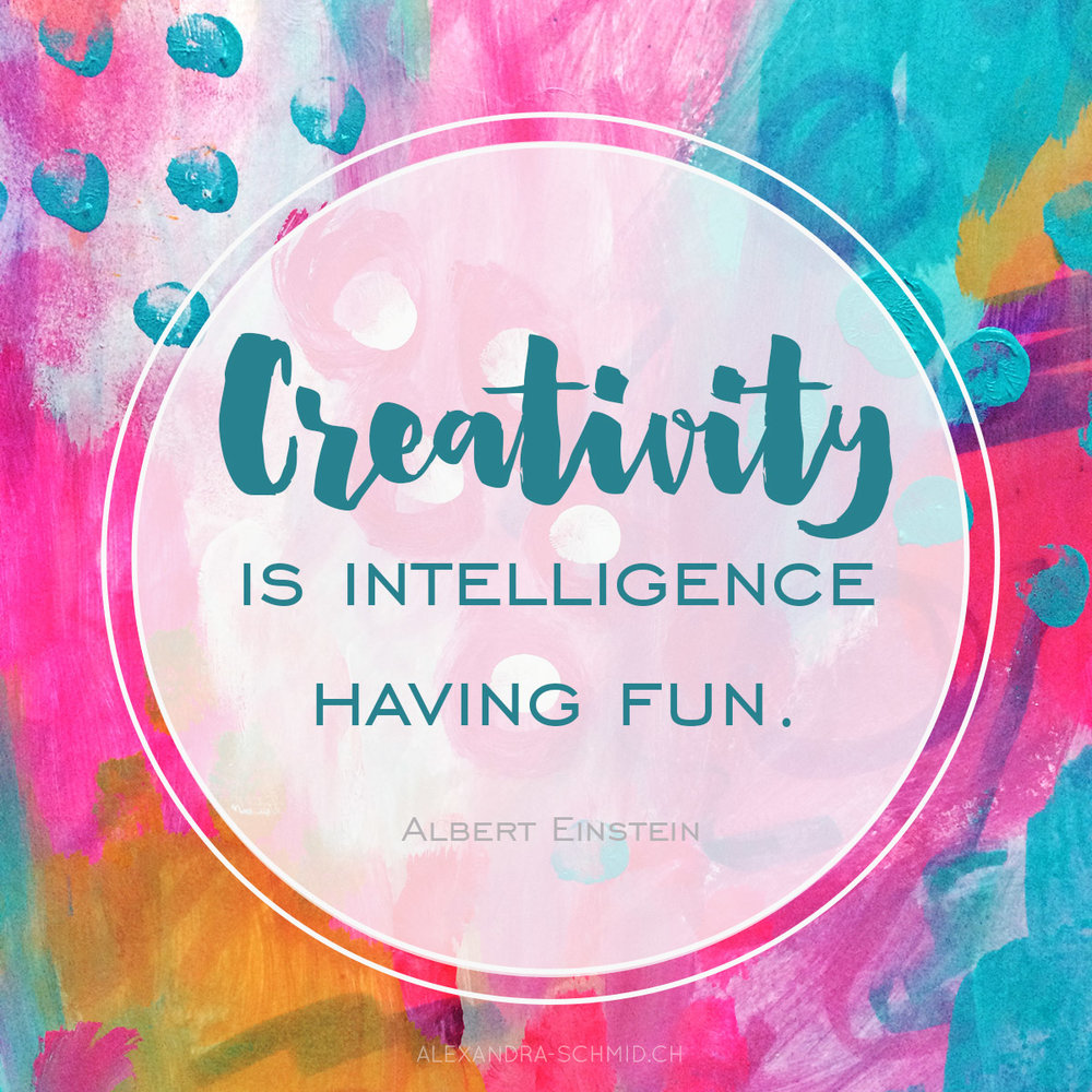 Über die Kreativität - Wie man seine Schaffenskraft zum Blühen bringt