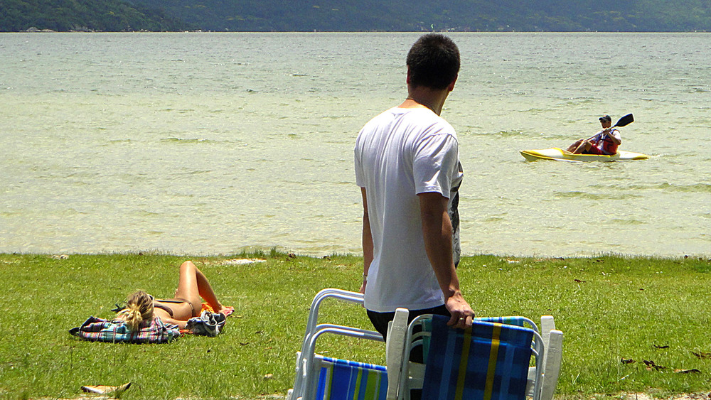 Turismo e esporte na Lagoa da Conceição
