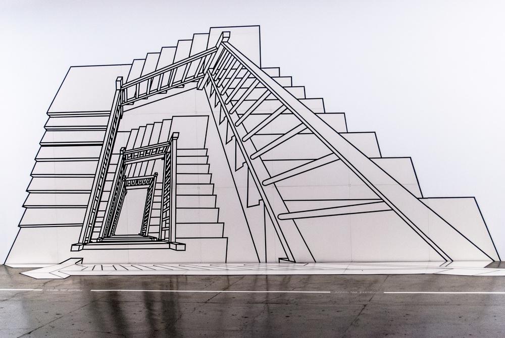Escada Inexplicável - REGINA SILVEIRA