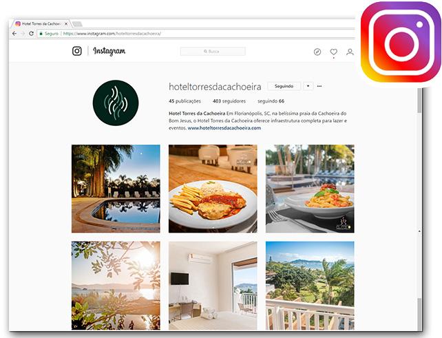 Hotel Torres da Cachoeira  - Instagram