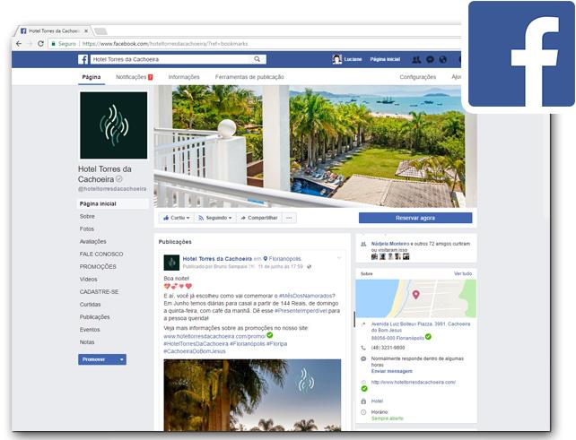 Hotel Torres da Cachoeira  - Facebook