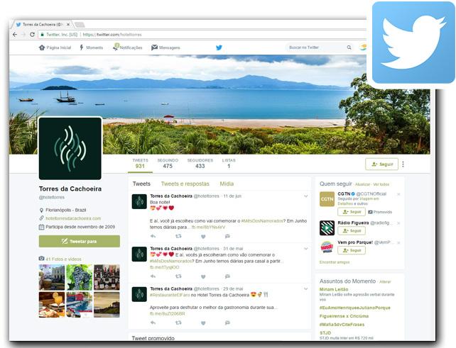 Hotel Torres da Cachoeira  - Twitter