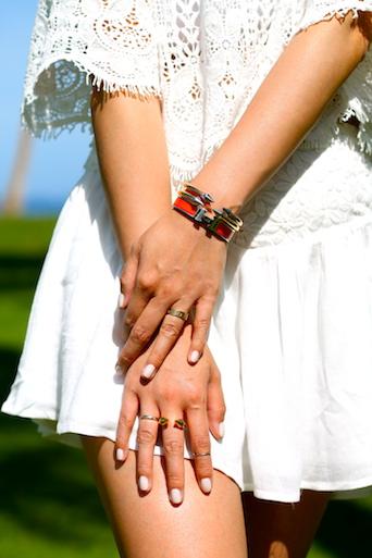 Hermes, Vita Fede bracelets, Vita Fede, Cartier, and Baublebar rings