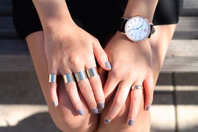 aisonMartin Margiela rings ,  watch c/o C&C Lifestyles