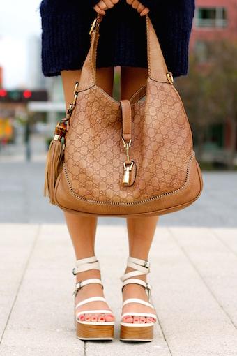 Gucci bag, Tibi shoes