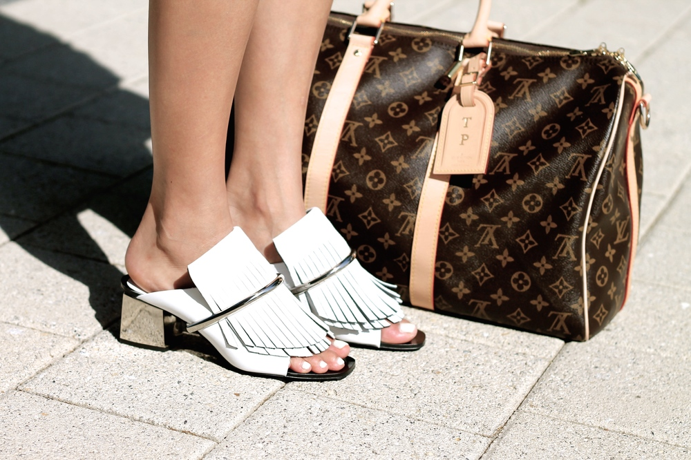 Proenza Schouler shoes, Louis Vuitton bag