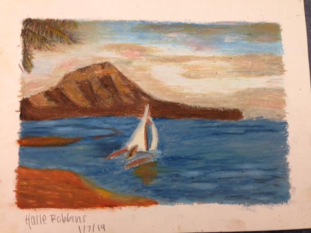 Halle Robbins' landscape.JPG