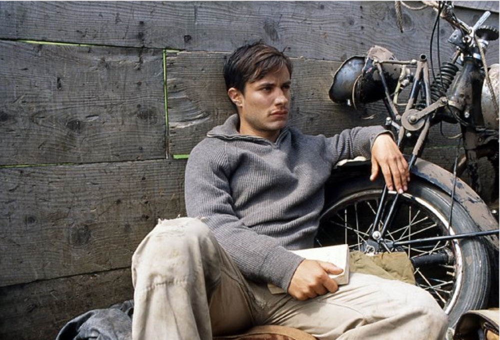 "Gael Gabriel Garcia in ""The Motorcycle Diaries"""