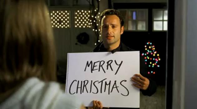 "Andrew Lincoln in ""Love Actually"""
