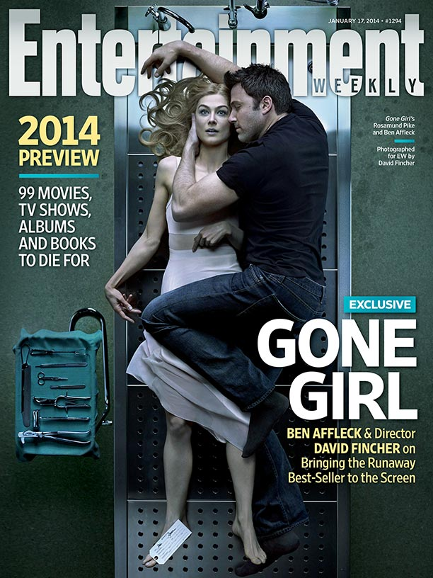 """Entertainment Weekly"" cover shot by David Fincher"