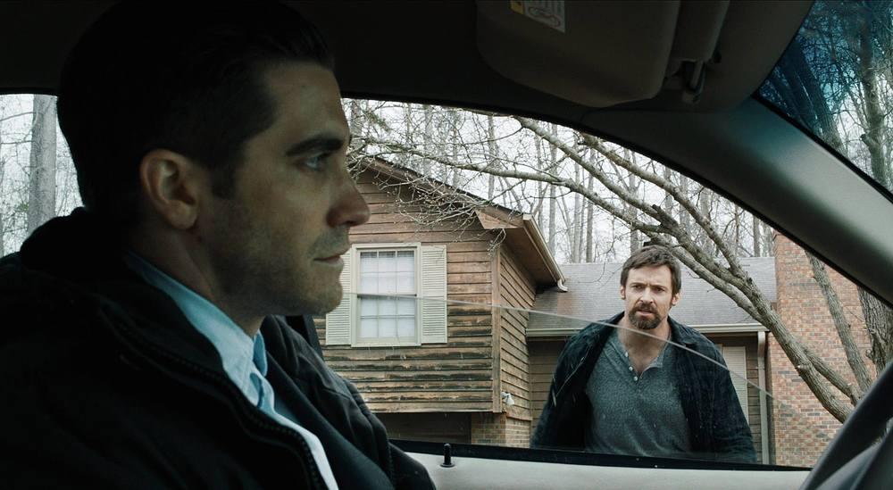 """Jake Gyllenhaal and Hugh Jackman in """"Prisoners"""" (2013)"""