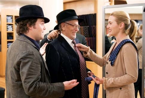 "Jack Black, Eli Wallach and Kate Winslet in ""The Holiday"" (2006)"