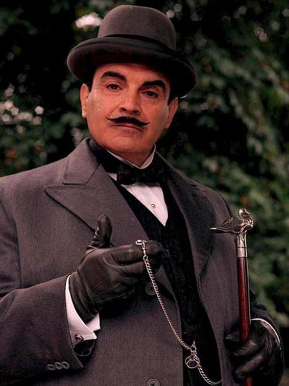 David Suchet as Agatha Christie's Hercule Poirot for Masterpiece Mystery on PBS