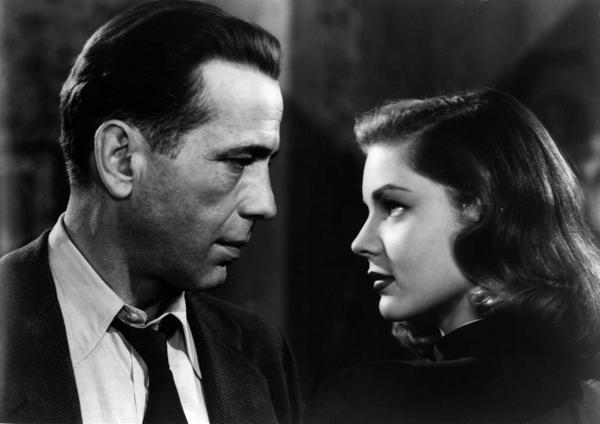 Bogie and Bacall (R.I.P. Betty)