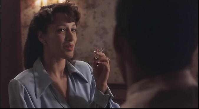 "Jennifer Beals in ""Devil in a Blue Dress"""