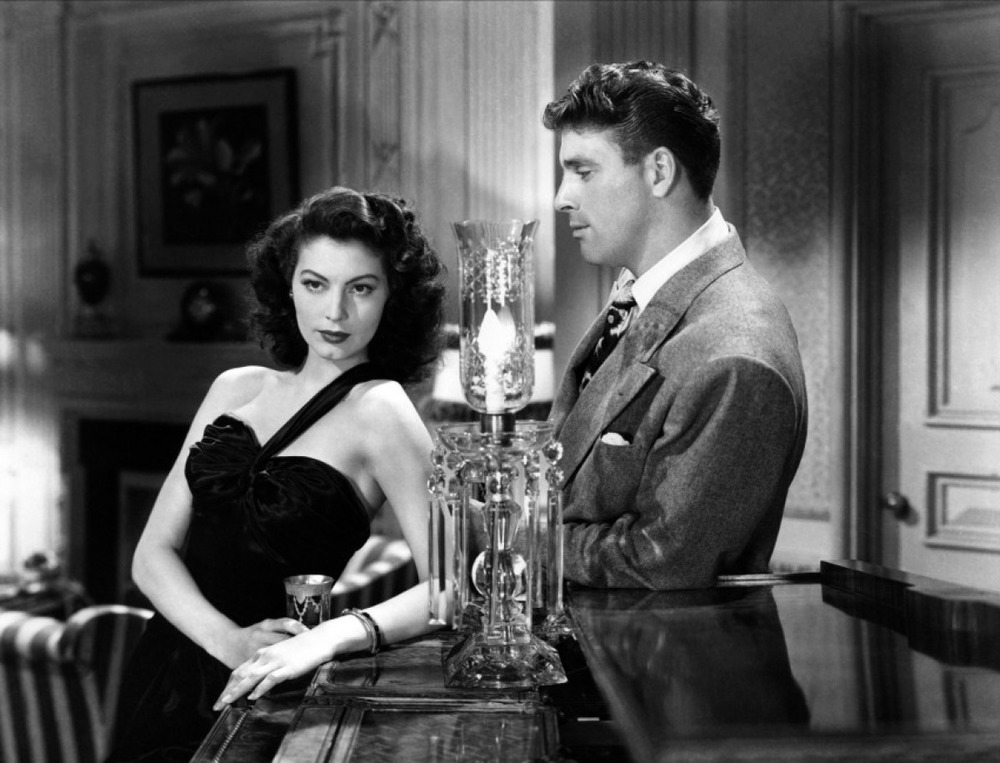 "Ava Gardner and Burt Lancaster in ""The Killers"""