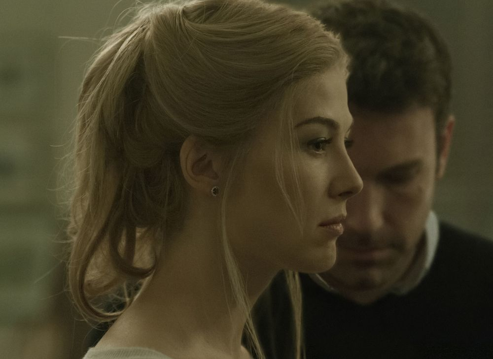 "Rosamund Pike and Ben Affleck in ""Gone Girl"""