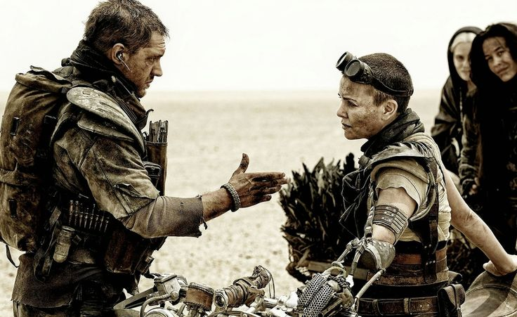 "Tom Hardy and Charlize Theron in ""Mad Max: Fury Road"""