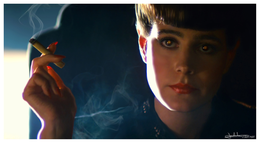 "Sean Young as Rachel in ""Blade Runner"""
