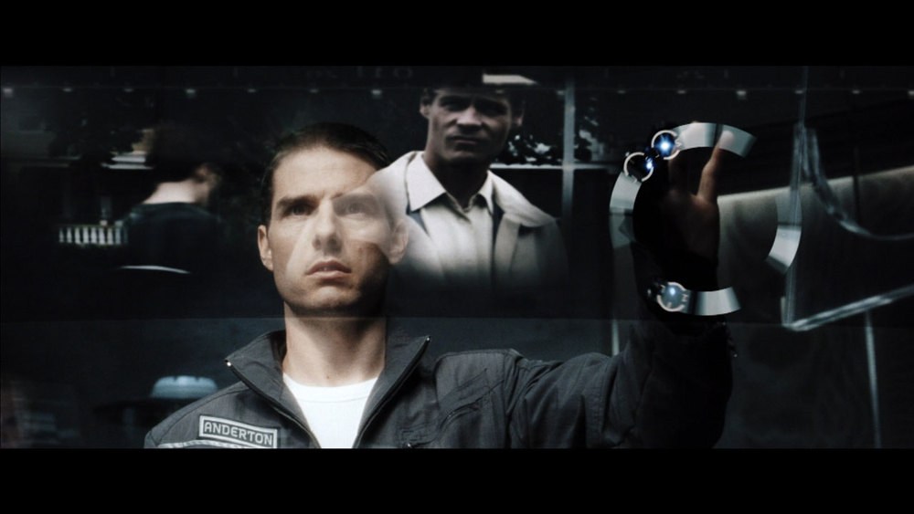 "Tom Cruise as John Anderton in ""The Minority Report"""
