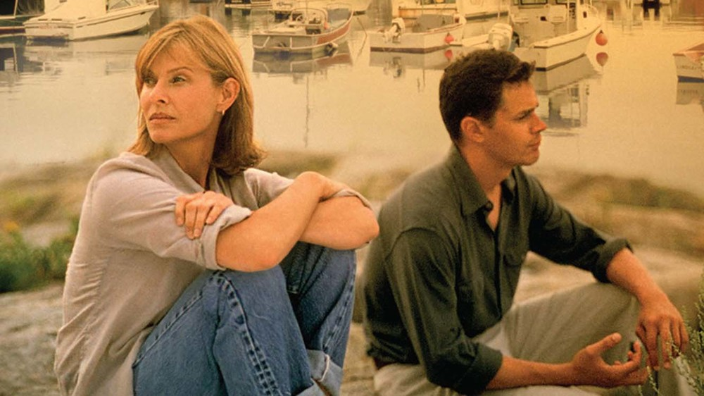"Kate Capshaw and Tom Everett Scott in ""The Love Letter"""