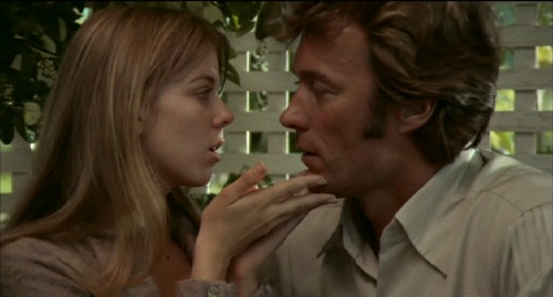 "Jo Ann Harris and Clint Eastwood in ""The Beguiled"" (1971)"
