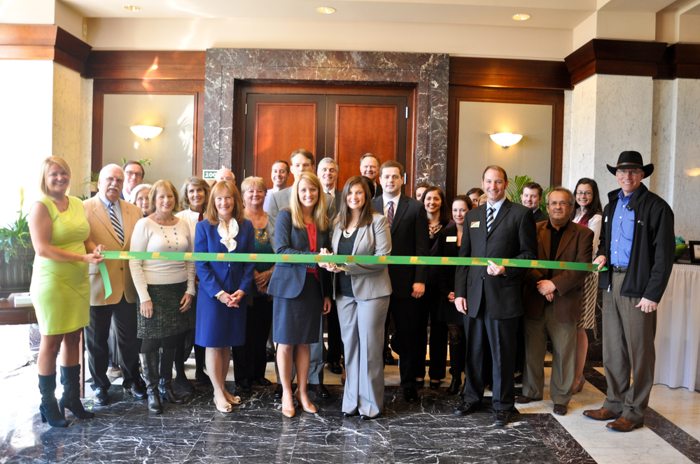Our Ribbon Cutting Ceremony with the Greenville Chamber of Commerce