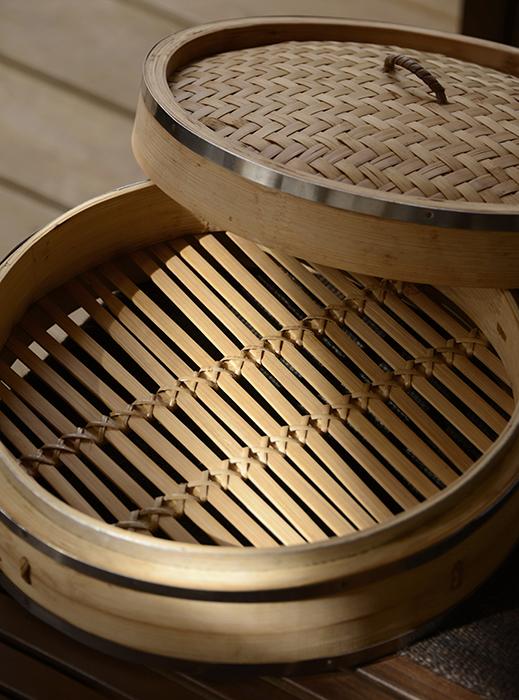 bamboo steamer extraordinair!