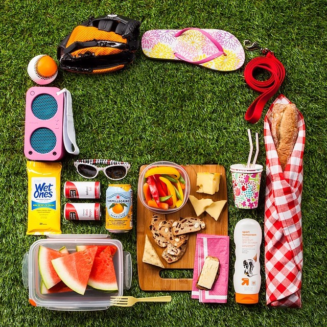Picnics are a sure sign of   #spring  .