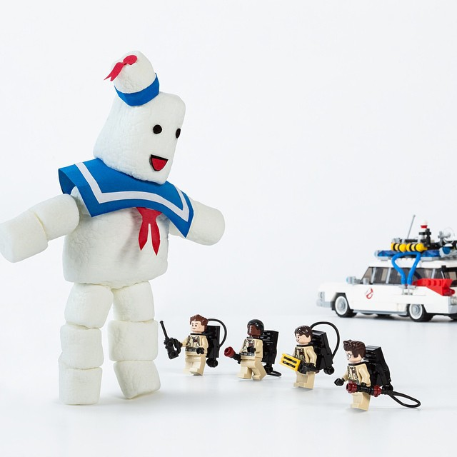 Even after all these years, we still can't get enough Ghostbusters action.  #GB30  @LEGO