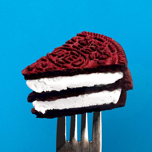 Stick a fork in it, today is over.   #RedVelvetOreo  's are here!