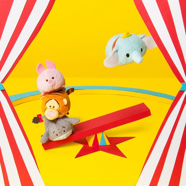 Dumbo   @Disney   Tsum Tsum flies with the greatest of ease (and the best ears around.)