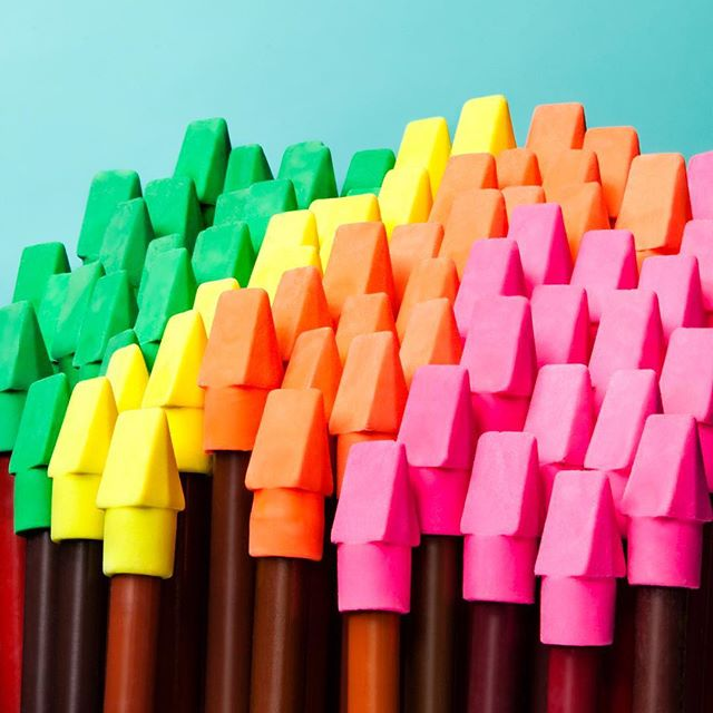 The #pencil top eraser forest is in peak fall color. CW - Jeff Barbian