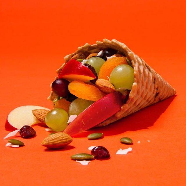 Did someone say waffle cone cornucopia? #fall   CW - Jeff Barbian