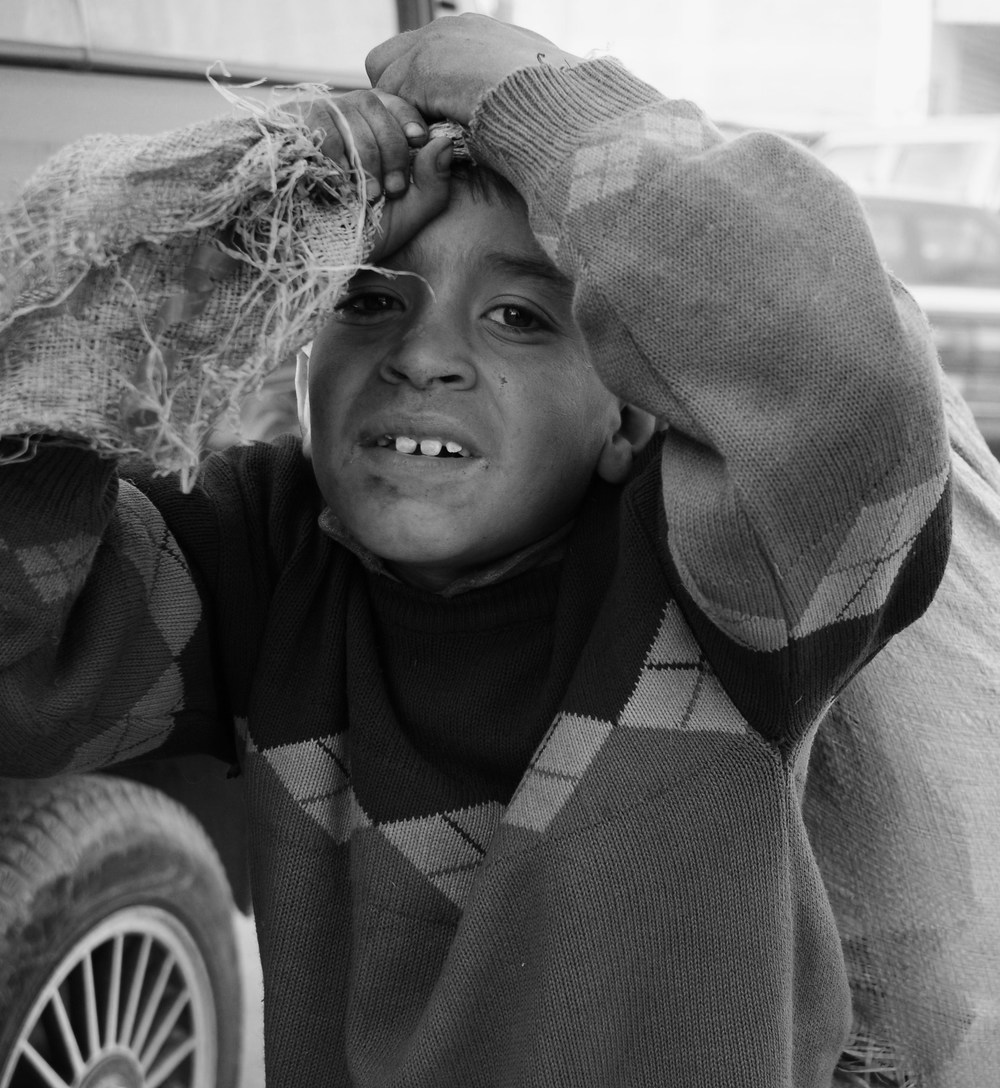 Worker Boy, Quetta, Pakistan