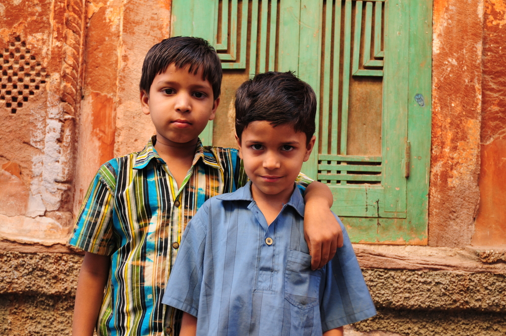 Boys in Jodhpur, India