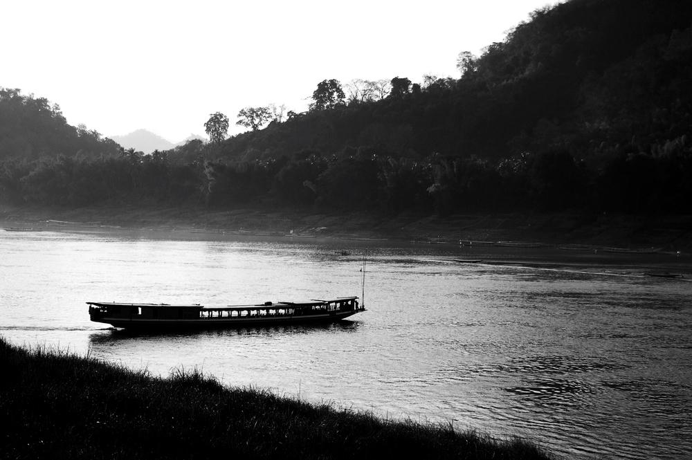 Mekong River, Ban Houayxay, Laos