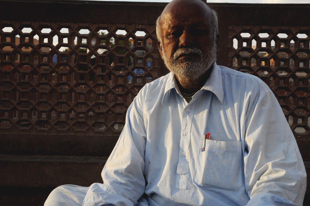 Man in Jaipur, India