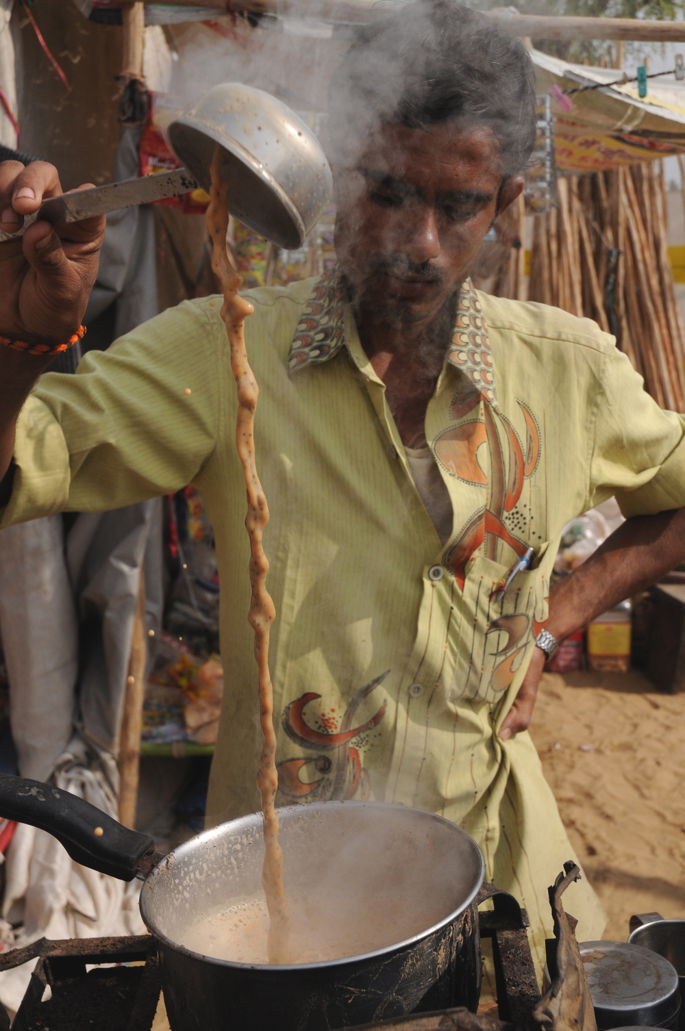 Tea Seller, Shekawati, India