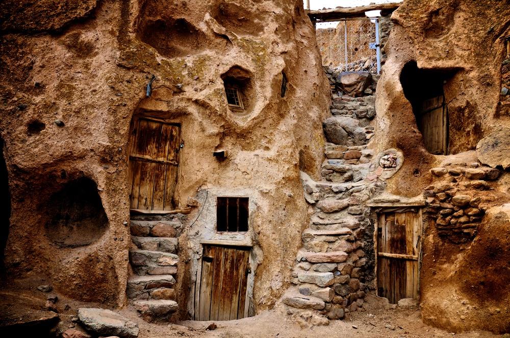 Stone Dwellings, Kandovan, Iran
