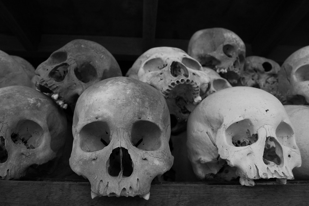 Victims of the Khmer Rouge, Phnom Penh, Cambodia