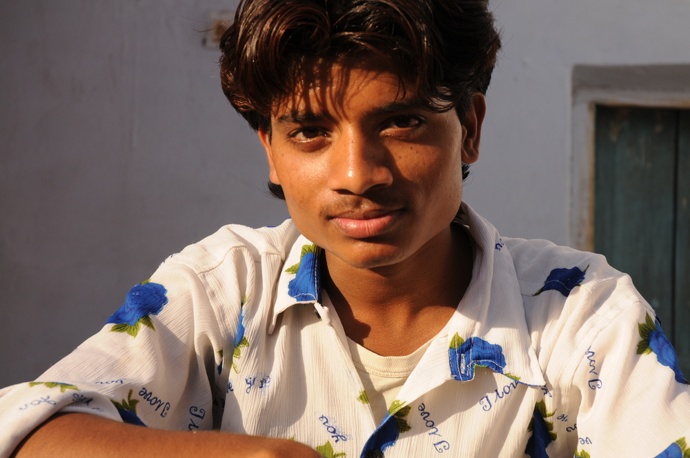 Young Man, Amber, India