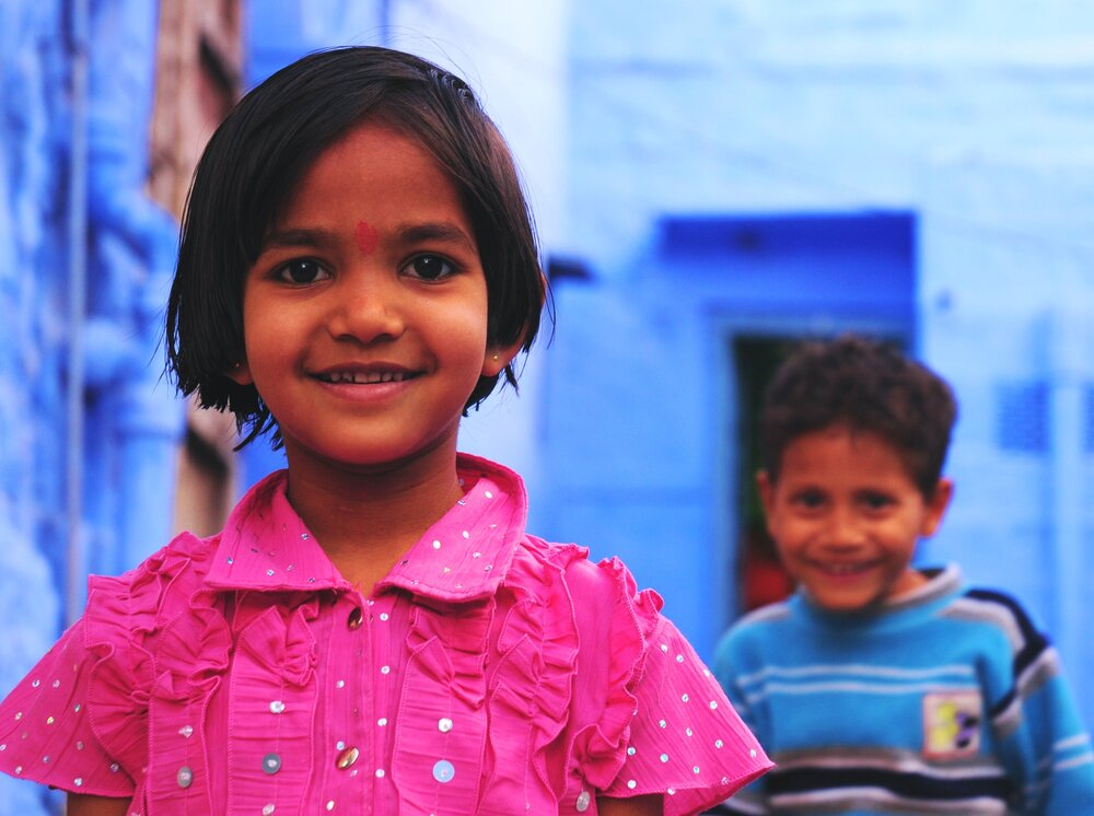 Children in Jodhpur, India