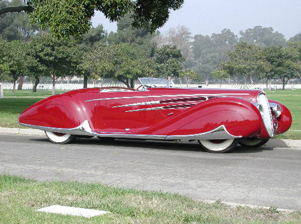 1939 Delahaye Type 165 Figoni & Felashi